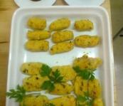 croquetes de mill al curry