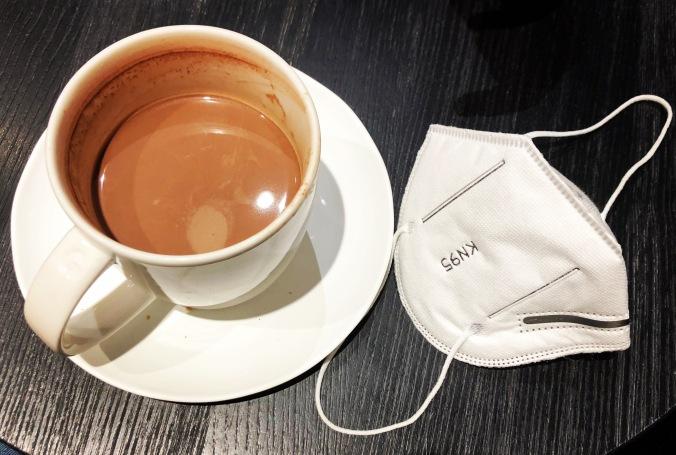 Xocolata amb mascareta